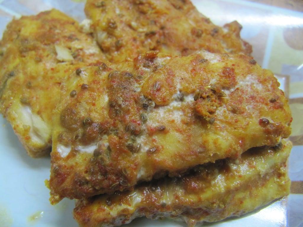 baked ajwaini fish