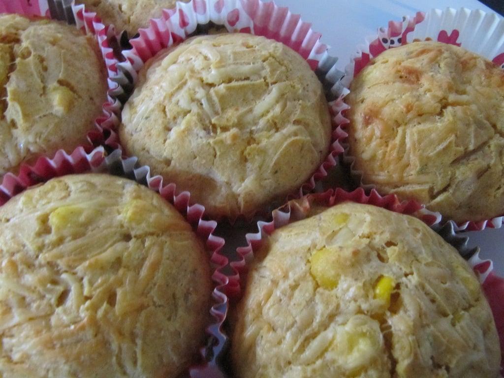 Corn Chilli Muffins