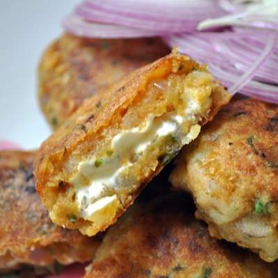 Cheese Stuffed Cutlet – Dahi Kabab
