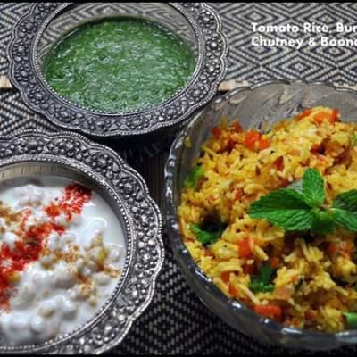 Tomato Rice & Comfort Food Series