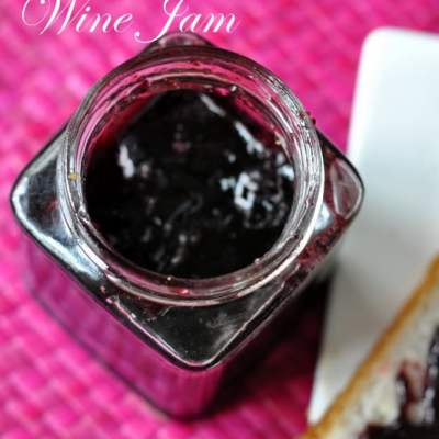 Grape, Ginger and Wine Jam