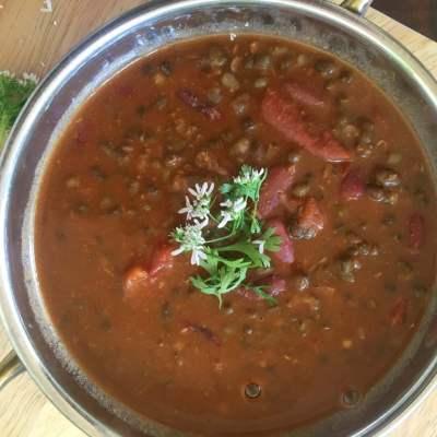 Punjabi Maa Ki Daal (Slow Cooked Black Urad Lentil)