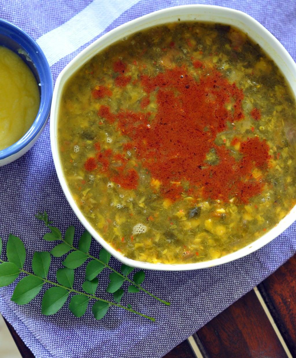 Drumstick Leaf Aka Moringa Dal Recipe Sinamontales