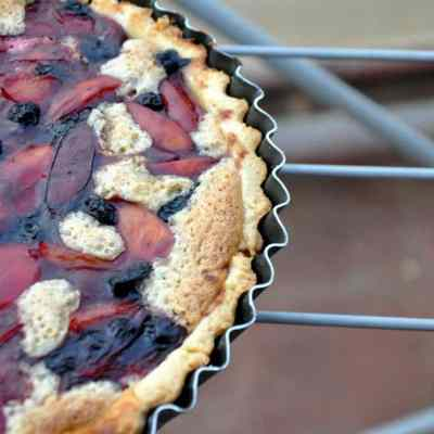 Frangipane Tart with Stone Fruit