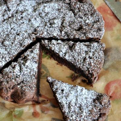 Kladkakka – Sweedish Chocolate Cake