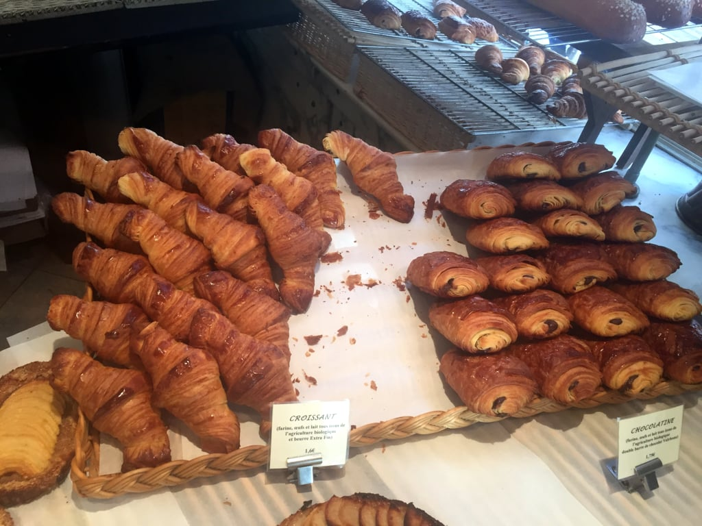 Fresh Croissants from the bakery