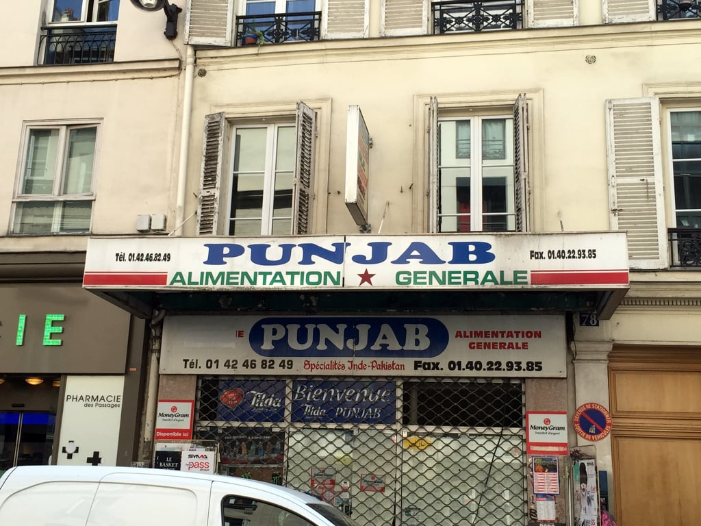 Punjab store in paris