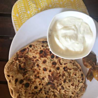 Of Hard Days, Comfort Food and Lacha Onion Parantha