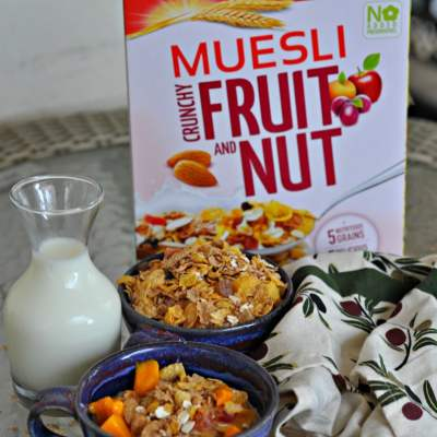 Muesli – A Play of Textures and Nutrients