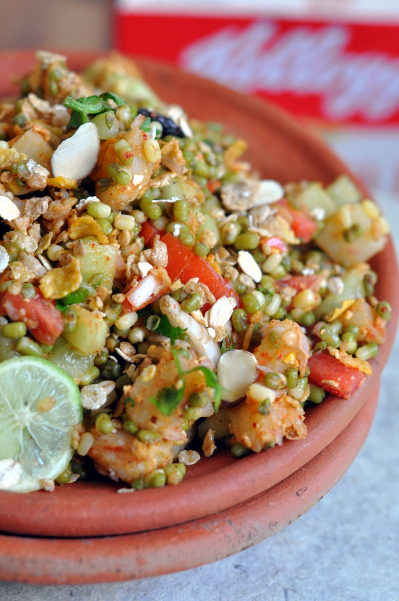 Sprouts Muesli Chaat