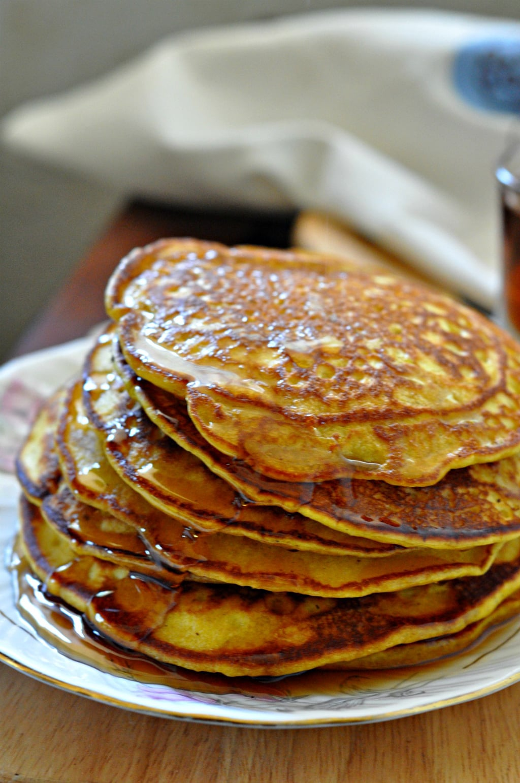 Whole Wheat Spiced Pumpkin Pancakes 1
