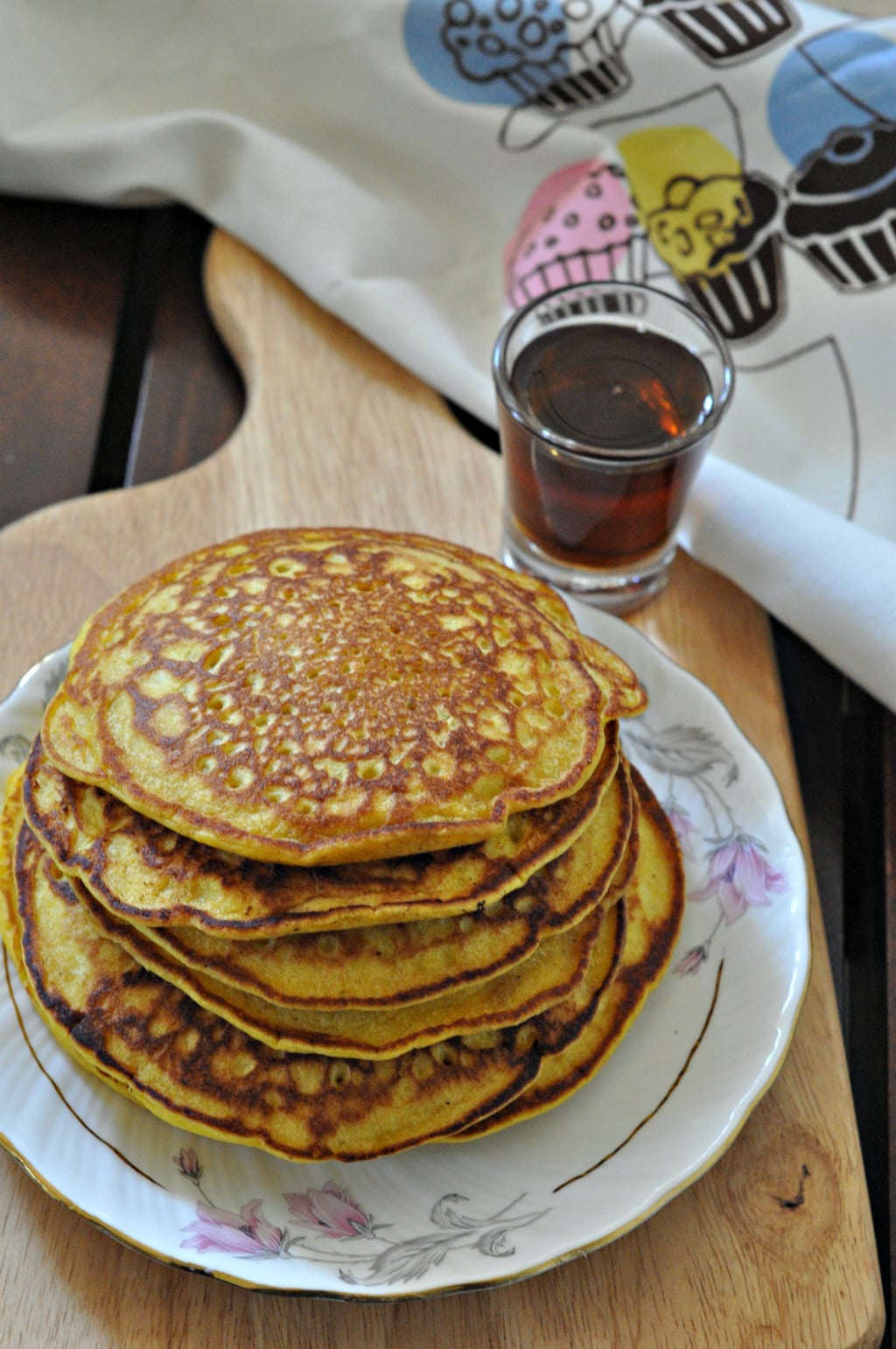 Whole Wheat Spiced Pumpkin Pancakes 2