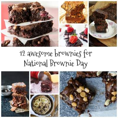 12 Awesome Brownies for National Brownie Day