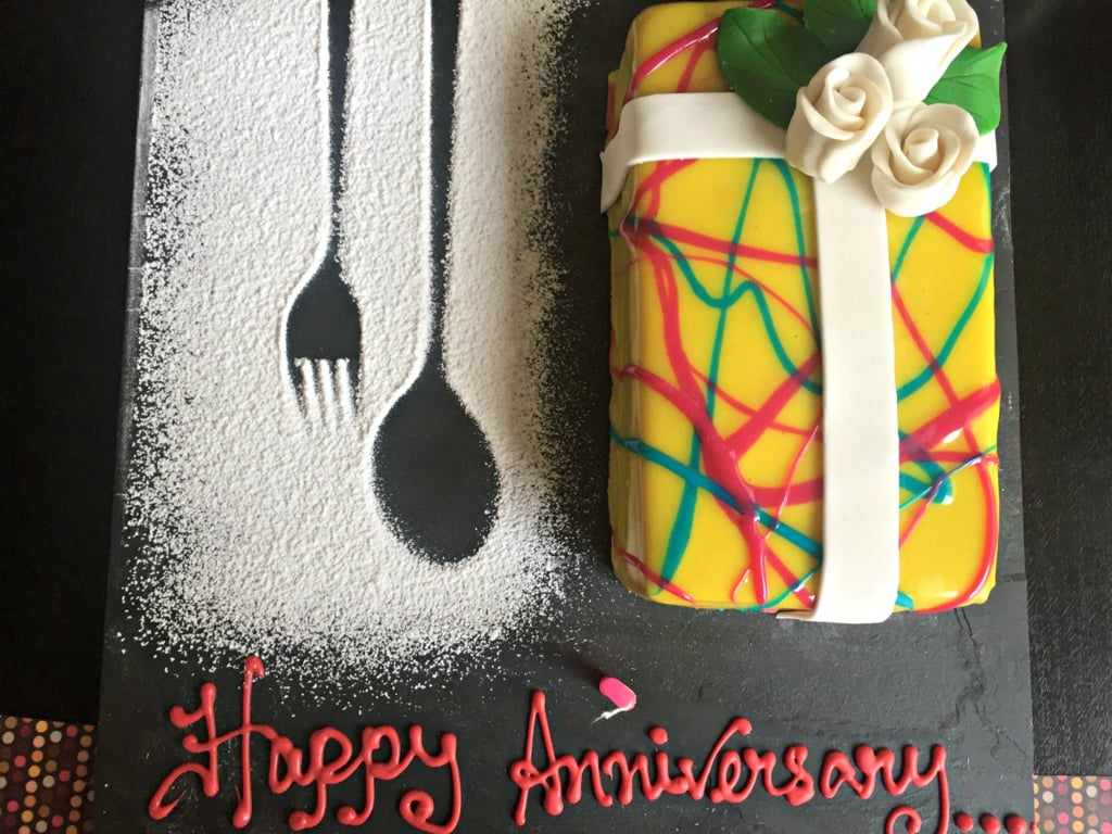 anniversary at the double tree
