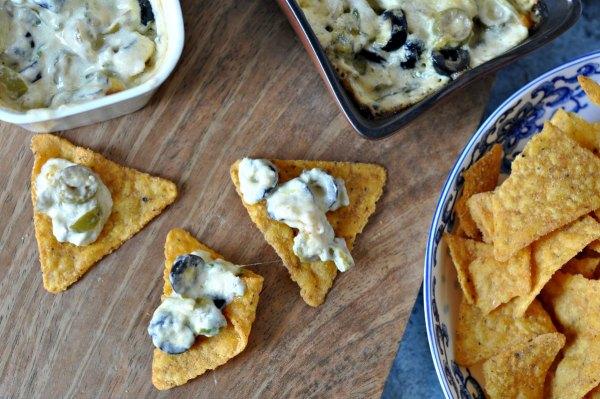 Cheesy Olive Dip