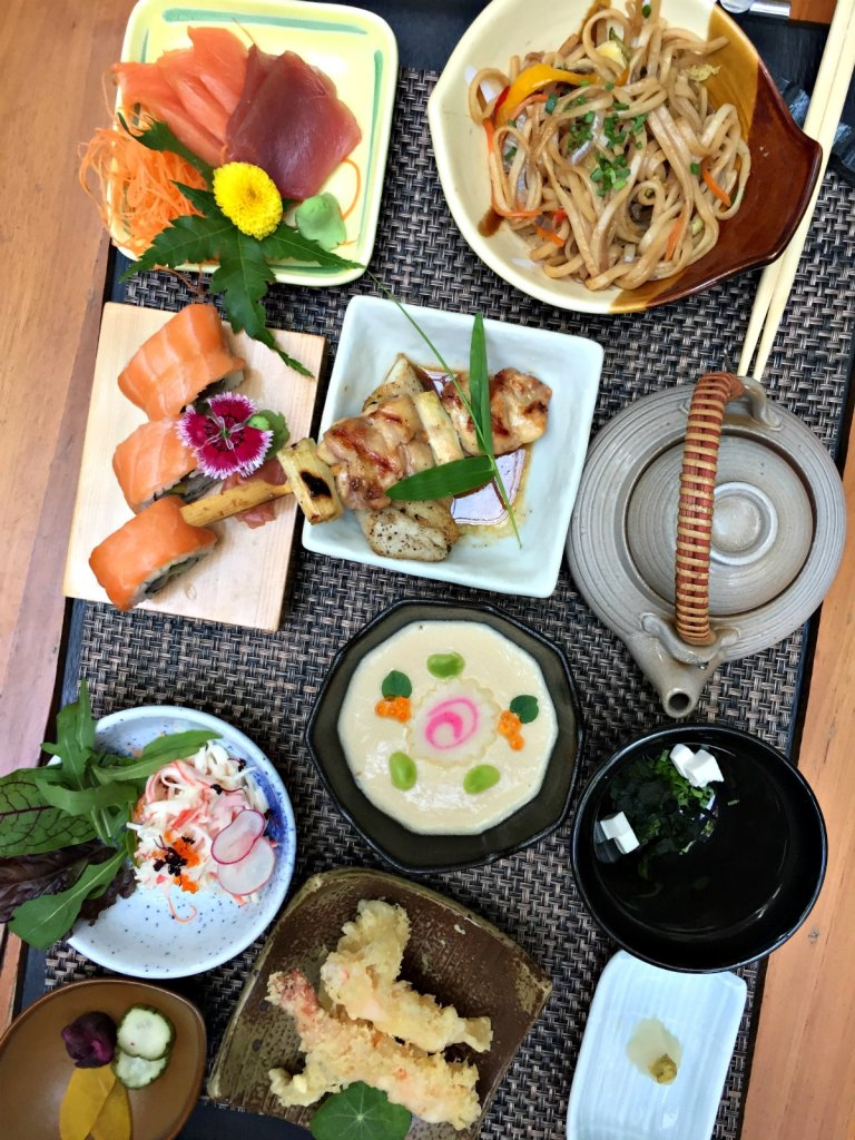 Edo Set Meals