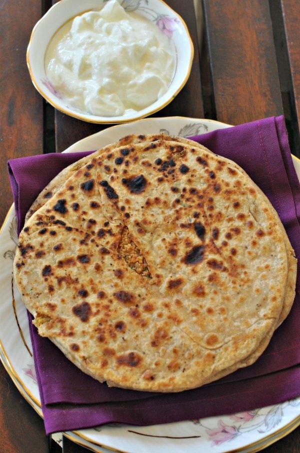 Sattu Parantha Recipe