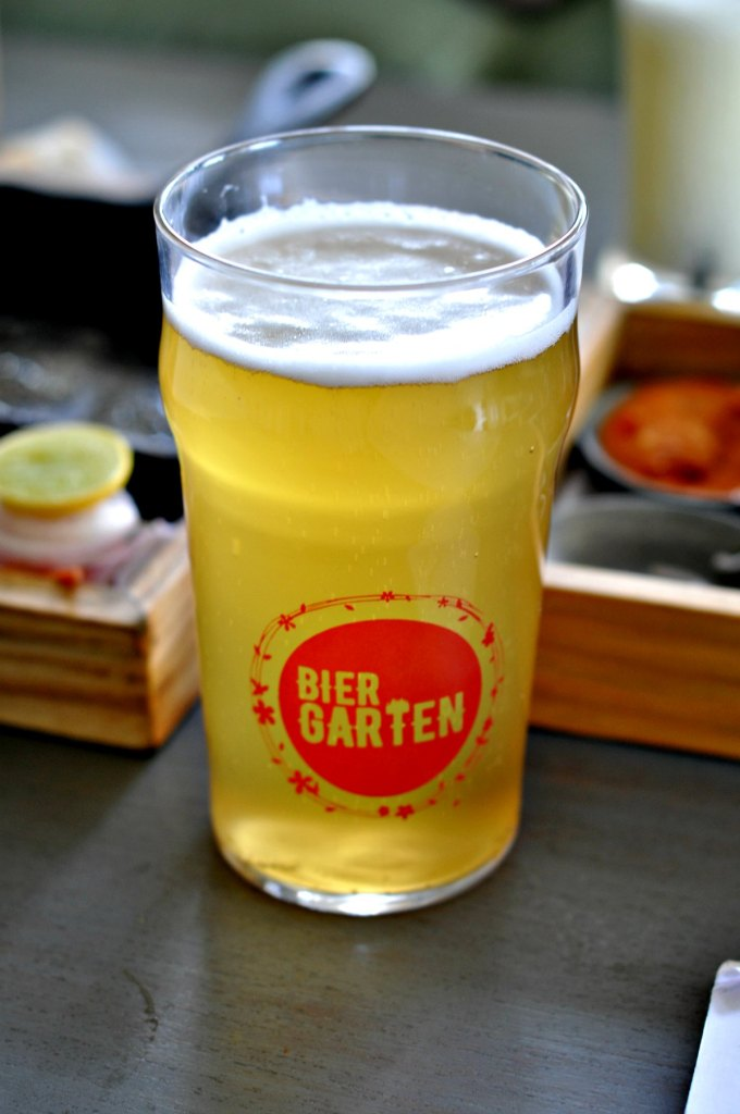 biergarten lager