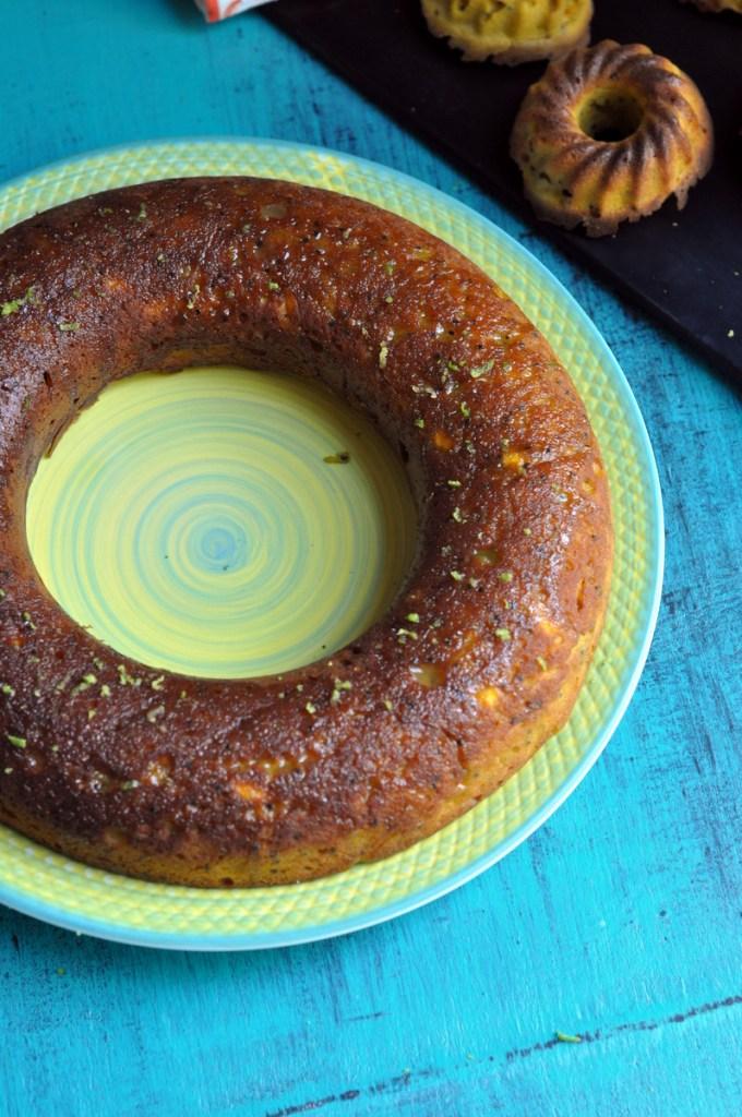 Mango Chia Seeds Sweet Lime Glaze