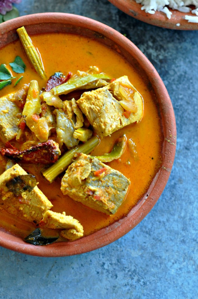 Raw Mango Fish Curry