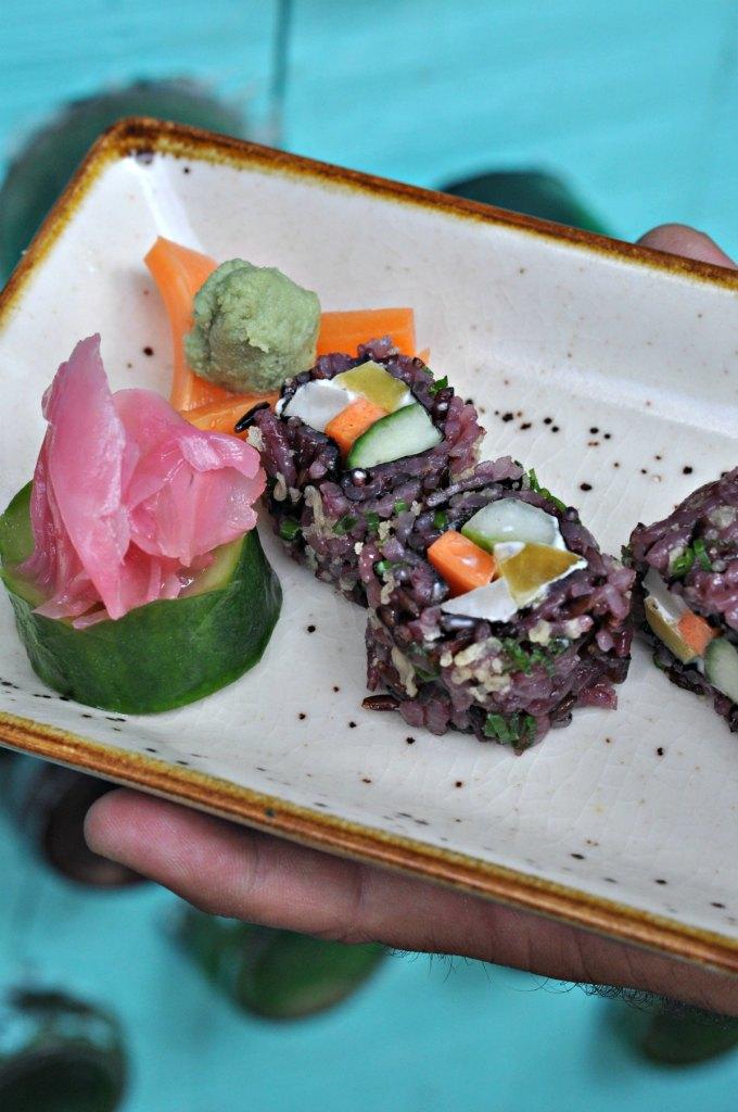 Black Rice Sushi