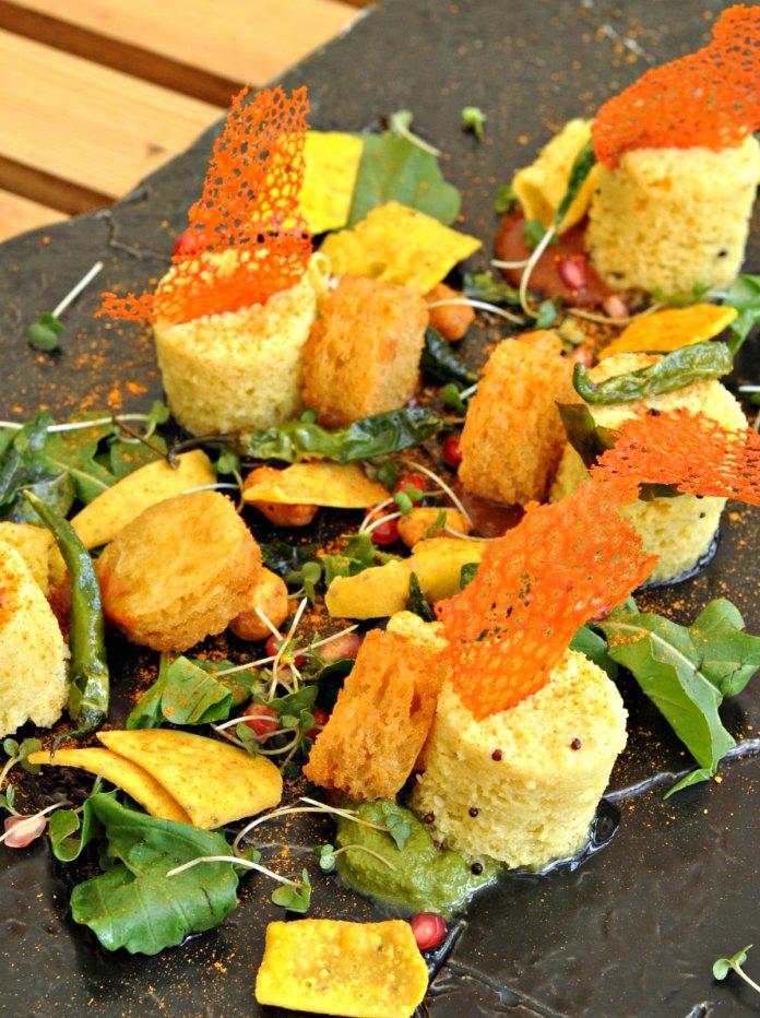 Dhokla and Farsan Salad