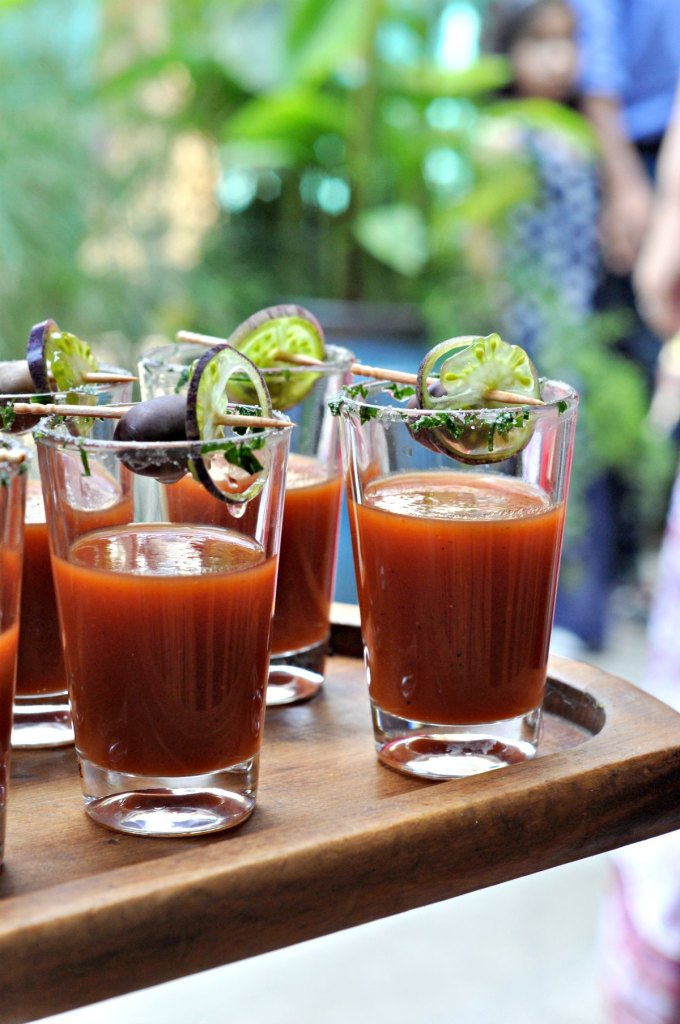 Tomato Gazpacho Shots