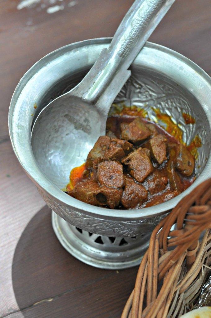 Charwan Kashmiri style liver
