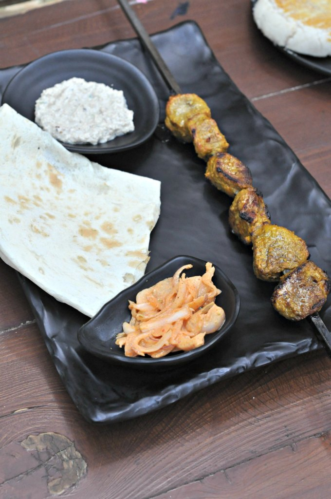 Lavasha Kabab Platter