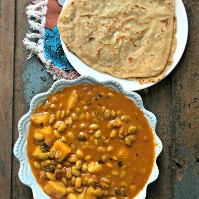 Avarekalu Sagu – Hyacinth Beans Curry