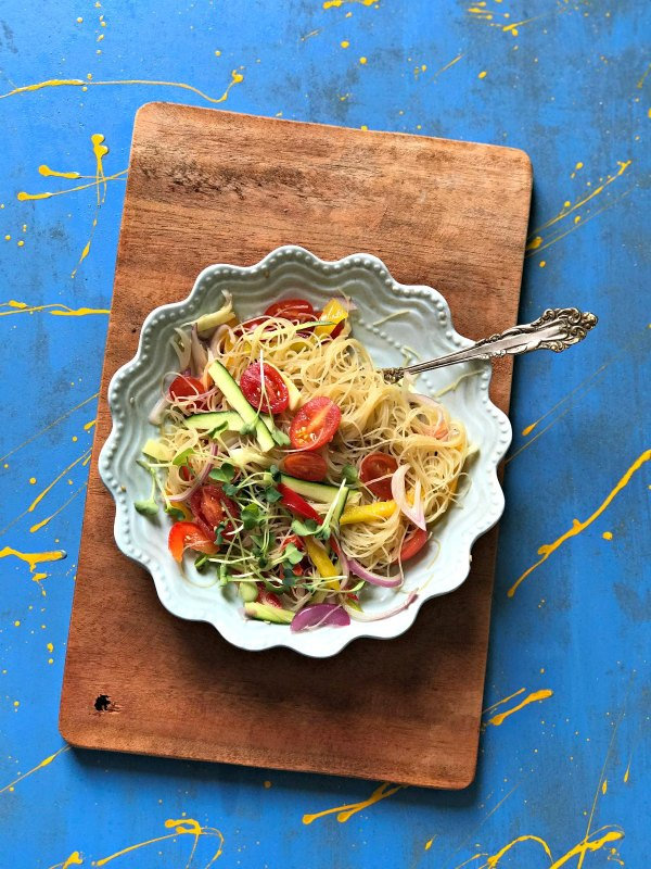 Green Tea Glass Noodle Salad