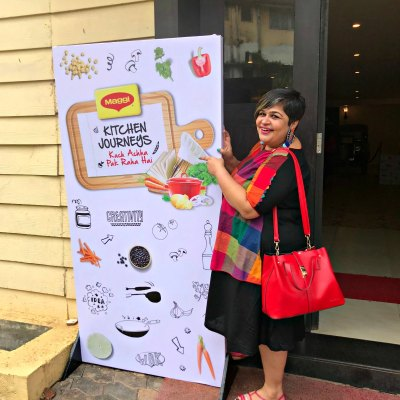 Cooking along with Rita Shinde & Maggi Kitchen Journeys