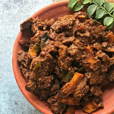 Kerala Style Beef Fry – Beef Ularthiyathu