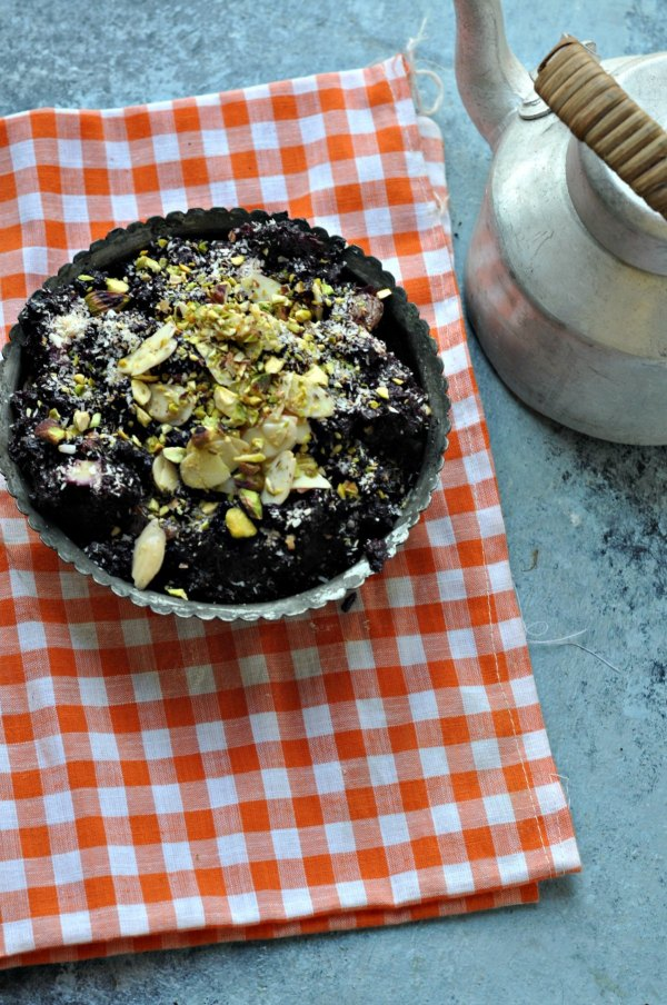 Black-Carrot-Halwa