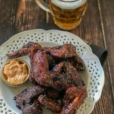 World's Easiest & Best Spicy Chicken Wings