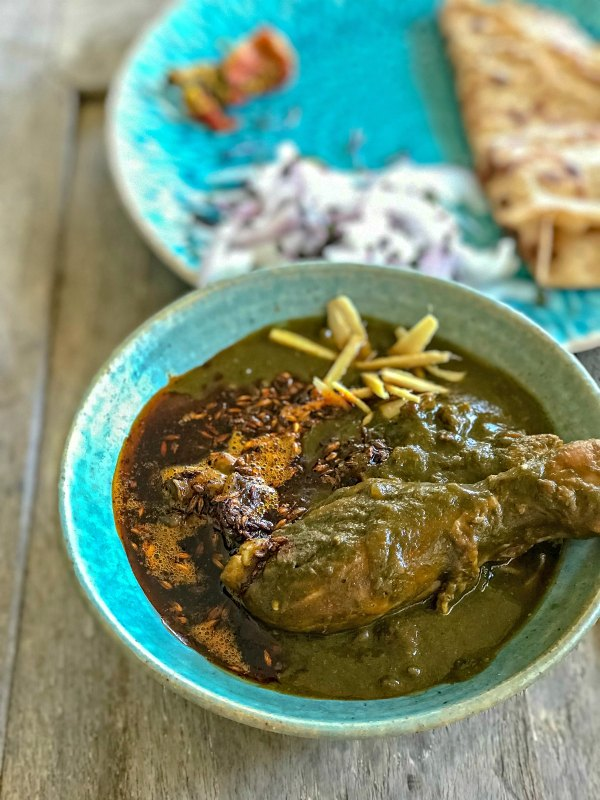 Saag Chicken Recipe