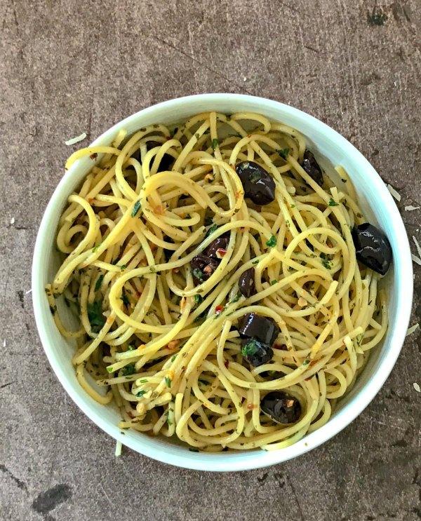 Olive Aglio E Olio