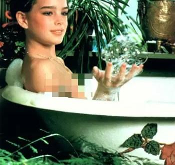 Las fotos de Brooke Shields desnuda a los 10 años para Playboy