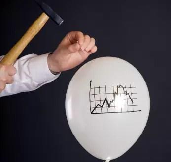 Qué son las burbujas financieras? Cuáles son las mas importantes?
