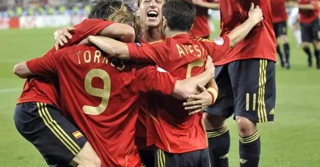 Paises ganadores de la Eurocopa