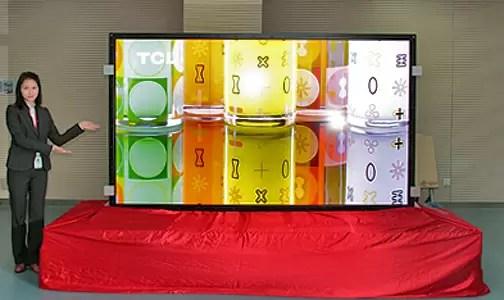 Presentan el TV LED mas grande del mundo - Características tecnológicas