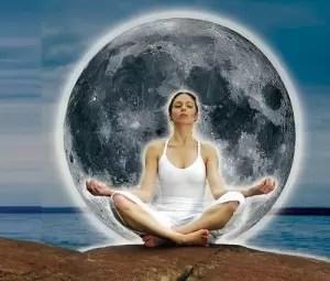 Luna llena para una mejor Meditación