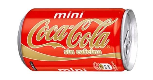 Coca cola lanza 'mini lata' sin cafeína para niños