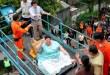 Fotos: Mujer obesa desata tremendo operativo al caer