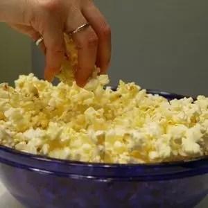 Son saludables las palomitas de maíz?