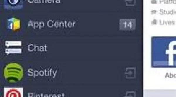Nuevo centro de aplicaciones de Facebook - Cómo funciona