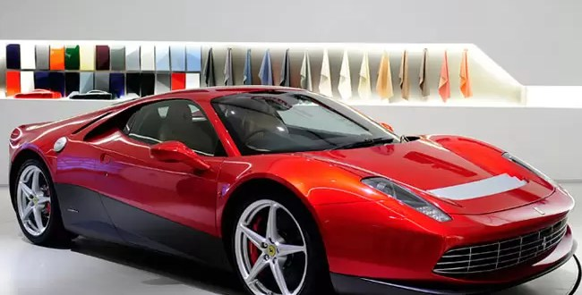 Conoce la Ferrari personalizada de Eric Clapton