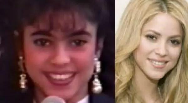 Fotos y video de Shakira antes de ser famosa