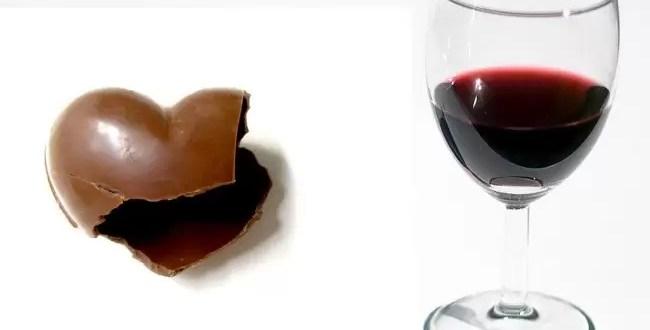 Comer chocolate y beber vino ayudan a la salud mental