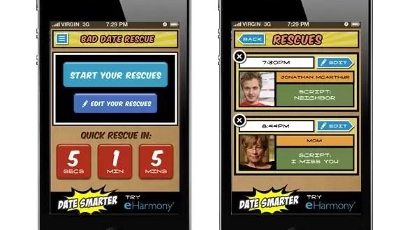 Bad Date Rescue la aplicación que te rescata en una cita